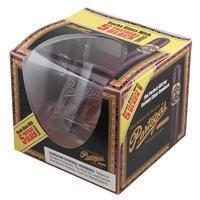 Partagas Black Label Sampler with Etched Rocks Glass