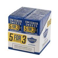 Swisher Sweets Cigarillos 5 for 3 Blueberry 20/5