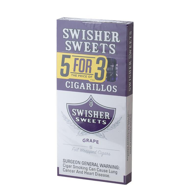 Swisher Sweets  Cigarillos 5 for 3 Grape (5)