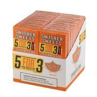Swisher Sweets Cigarillos 5 for 3 Peach 20/5
