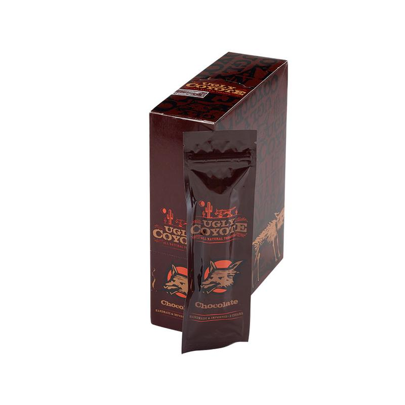 Ugly Coyote Natural Leaf Cigarillo Chocolate 15/2