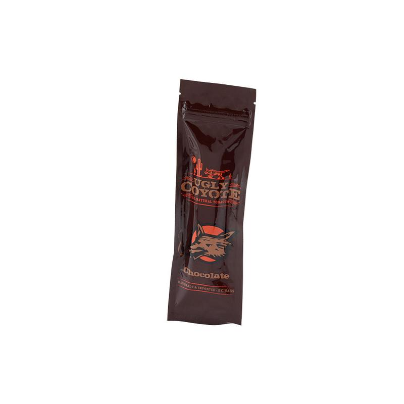 Ugly Coyote Natural Leaf Cigarillo Chocolate (2)