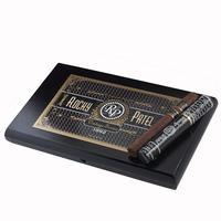 Vintage By Rocky Patel 1992 Toro cigars are handmade with a tantalizing blend of 5-yr-aged Dominican & Nicaraguan fillers with a dark, vintage '92 Sumatra wrapper, and presented in 10 crystal tubes. The medium-bodied smoke is creamy, perfectly-balanced, and teeming with rich tobacco flavor.