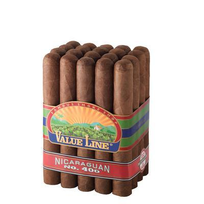 Value Line Nicaraguan #400 Cigars Online for Sale