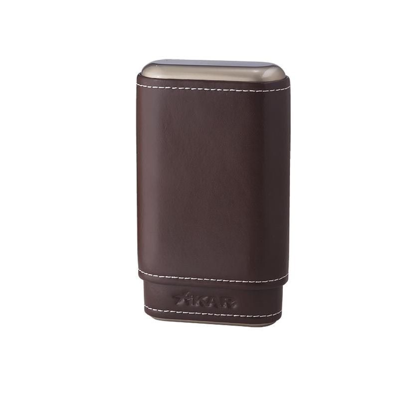 Xikar Cases Xikar Envoy Leather 3 Cognac