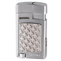 Xikar Forte Soft Flame Lighter Silver
