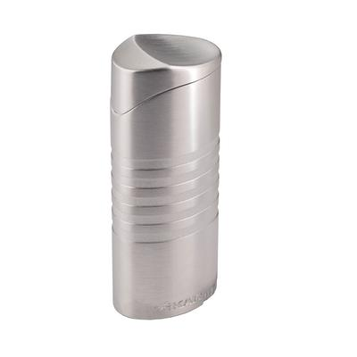 Xikar Ellipse II Triple Flame Lighter Chrome Silver
