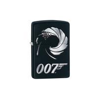 Zippo 007 Black Mat