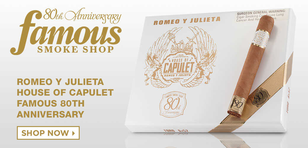Shop Romeo Y Julieta House Of Capulet Famous 80th Anniversary