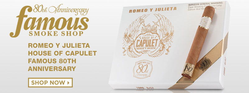 Shop Romeo Y Julieta House Of Capulet Famous 80th Anniversary - mobile