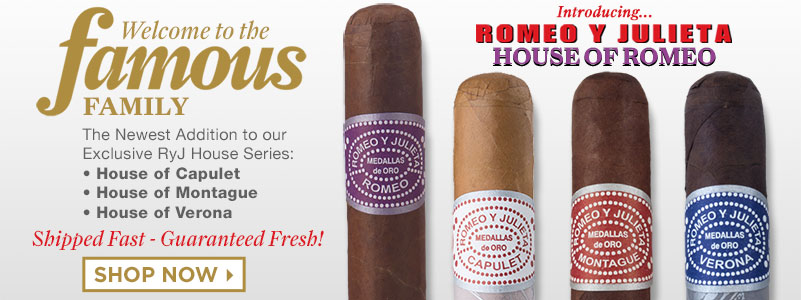 Famous Smoke Shop 80th Anniversary Cigars - mobile