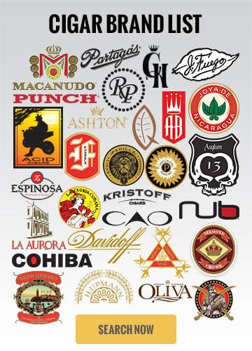 Cigar Brand List