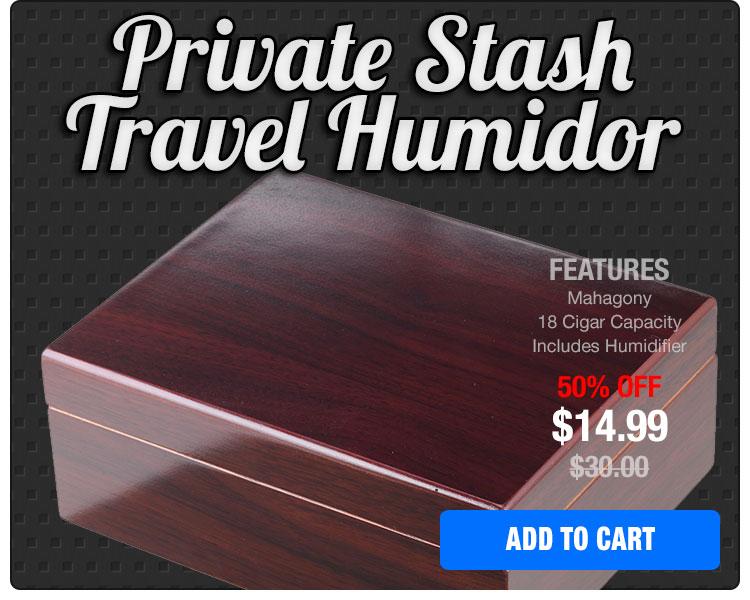 Travel Humidor On Sale