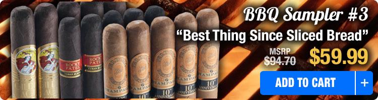 Famous Smoke BBQ Cigar Sampler 3