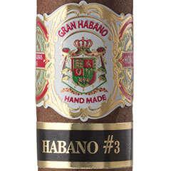 Gran Habano #3 Habano Cigars & Cigarillos Online for Sale