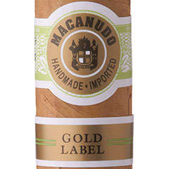 Macanudo Gold Label Cigars & Cigarillos Online for Sale