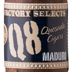 Quesada Factory Selects Q8 Maduro Gordo - CI-QF8-GORM - 400