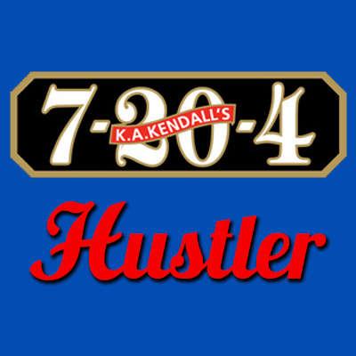 7-20-4 Hustler Dogwalker Logo