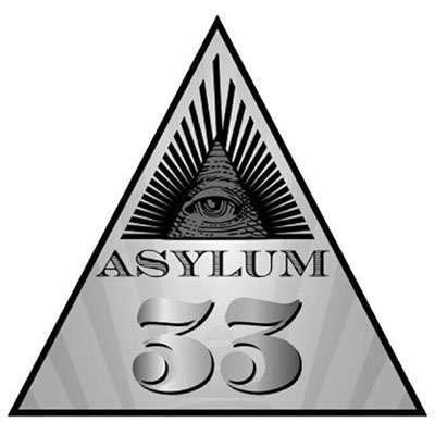 Asylum 33 Robusto 5 Pack Logo