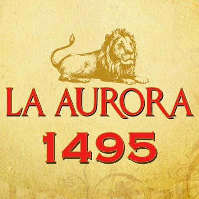 La Aurora 1495 15 Minute Break Logo