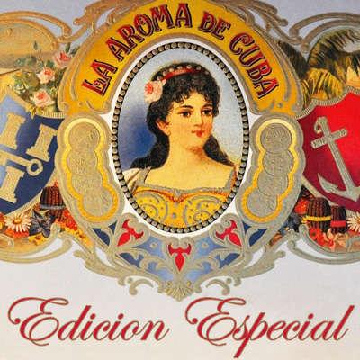 La Aroma De Cuba Edicion Especial Minutos Logo