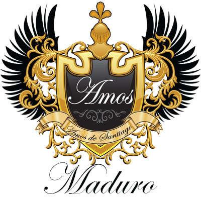 Amos De Santiago Maduro Robusto Logo