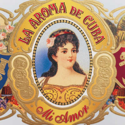 La Aroma De Cuba Mi Amor Robusto Logo