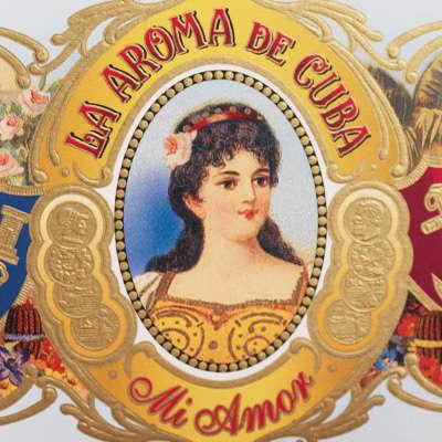 La Aroma De Cuba Mi Amor Churchill Logo