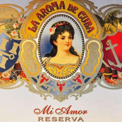 La Aroma De Cuba Mi Amor Reserva Romantico Logo
