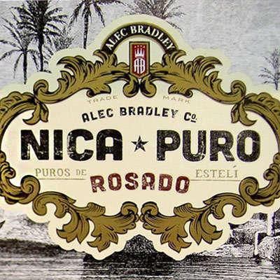 Alec Bradley Nica Puro Rosado Churchill Logo