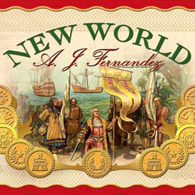 New World By AJ Fernandez Gordo Logo