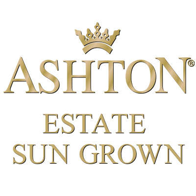 Ashton Estate Sun Grown 22 Year Salute Logo