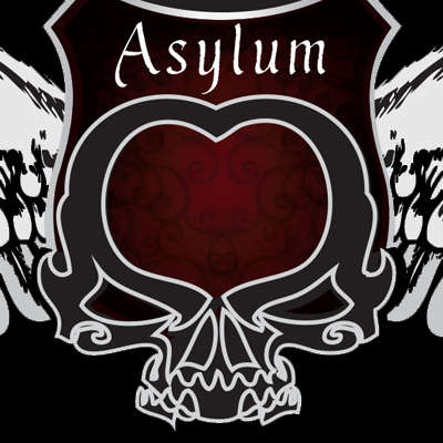 Asylum Lighter Red Logo