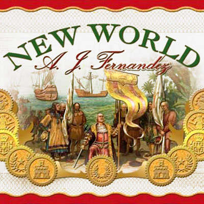 New World Connecticut by AJF Corona Gorda 5 Pack - CI-AWC-CGORN5PK - 75