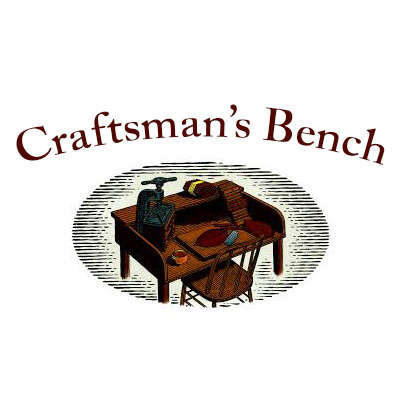 Craftsman's Bench 60 Ring Churchill Brown Cigar Case Logo
