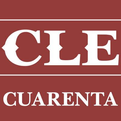 CLE Cuarenta 11/18 Logo