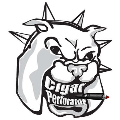Cigar Perforator Perfdog Black Logo