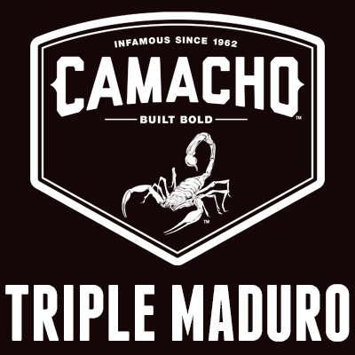 Camacho Triple Maduro Figurado 5 Pack Logo