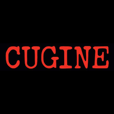 Cugine Ceramic Ashtray Red Logo