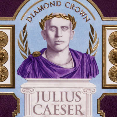 Diamond Crown Julius Caeser Pyramid Logo