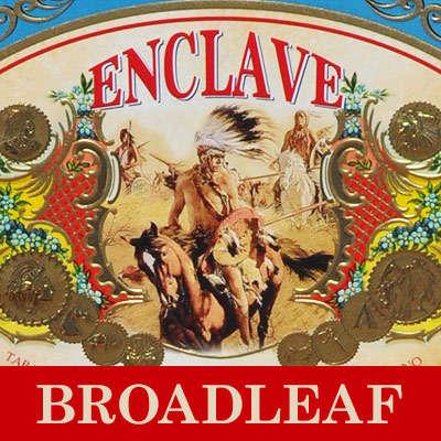 AJF Enclave Broadleaf Belicoso Logo