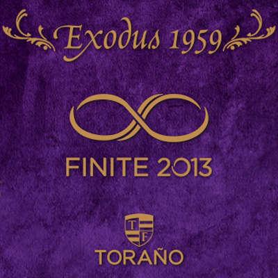 Torano Exodus Finite Robusto - CI-EXF-ROBN - 400