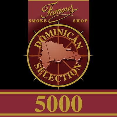Famous Dominican Selection 5000 Torpedo 5 Pack