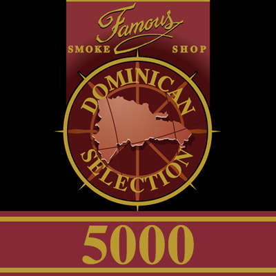 Famous Dominican Selection 5000 Torpedo Logo
