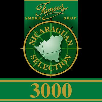 Famous Nicaraguan Selection 3000 Torpedo Logo