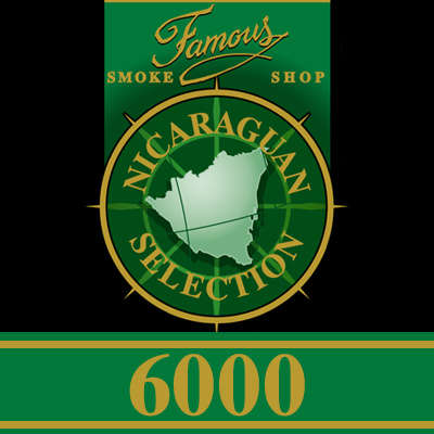 Famous Nic 6000 Robusto 5 Pack - CI-FN6-ROBN5PK - 400