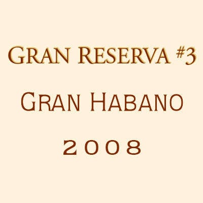 Gran Habano Gran Reserva No. 3 Churchill 2009 5 Pack Logo