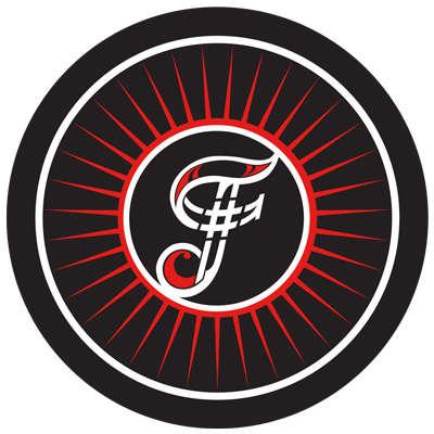 # Famous Petite Corona Logo