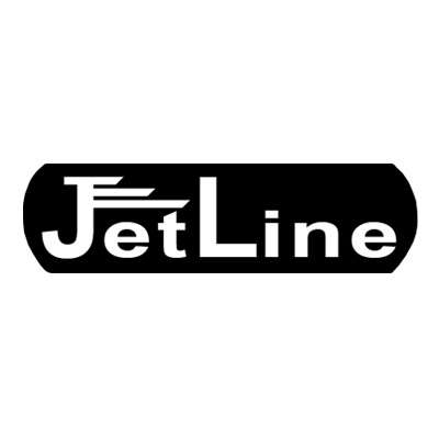 Jet Line Clear Torch Green Triple Flame Lighter Logo