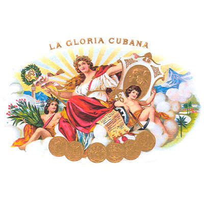 La Gloria Cubana (DR) Churchill Logo